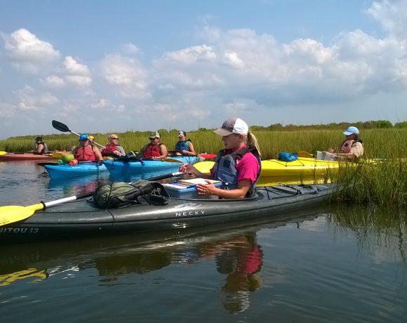 Kayak Adventure - Coastal Heritage Preserve