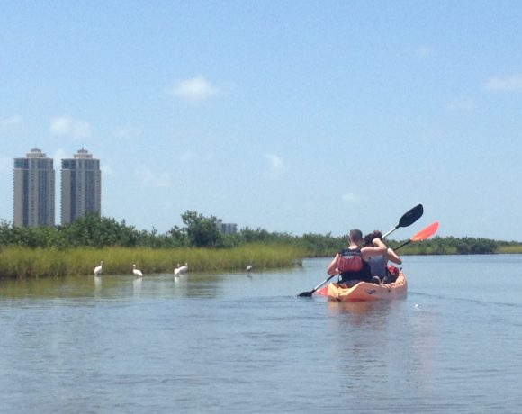 Kayak Adventure at East End Lagoon