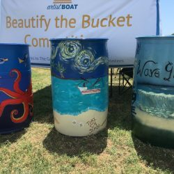 Artist Boat taking Beautify the Bucket entries