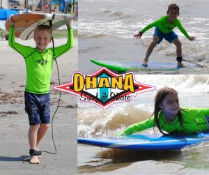 Learn to Surf with OHANA